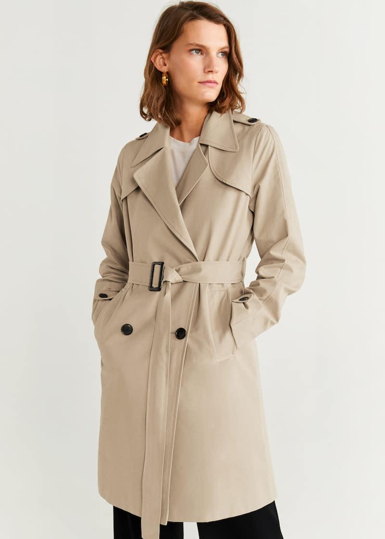 diseño de calidad 35dd4 bb40a Trench - Abrigos de Mujer 2019 | Mango España