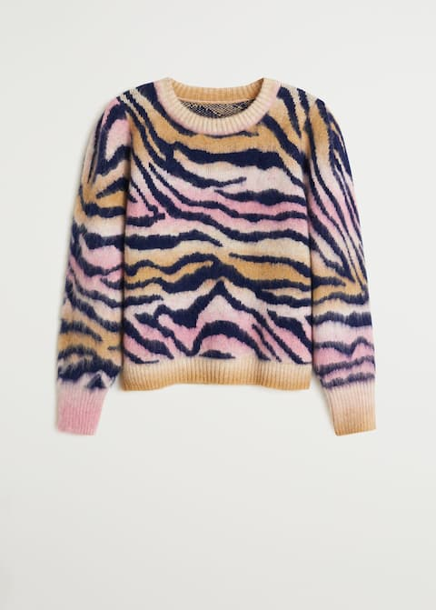 Animal print pullover - Item without model