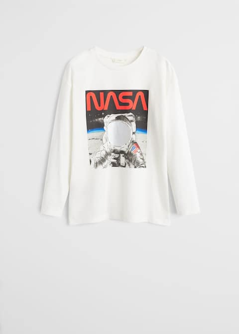 NASA printed t-shirt