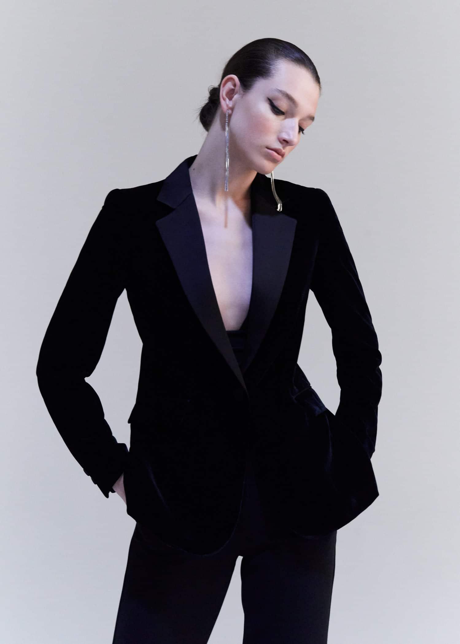 Veste velours Femme | Mango France