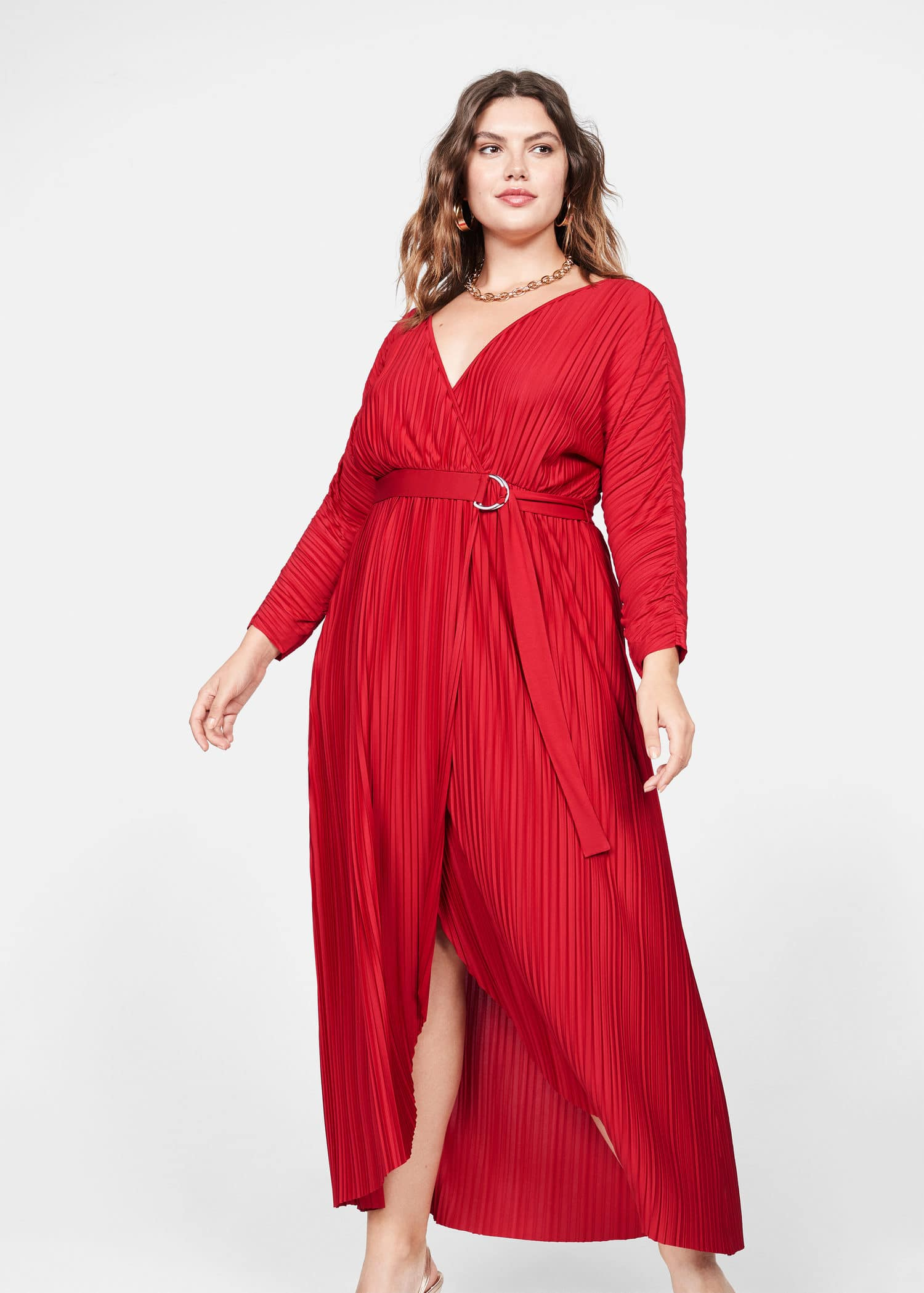 Plus size dress for christmas party