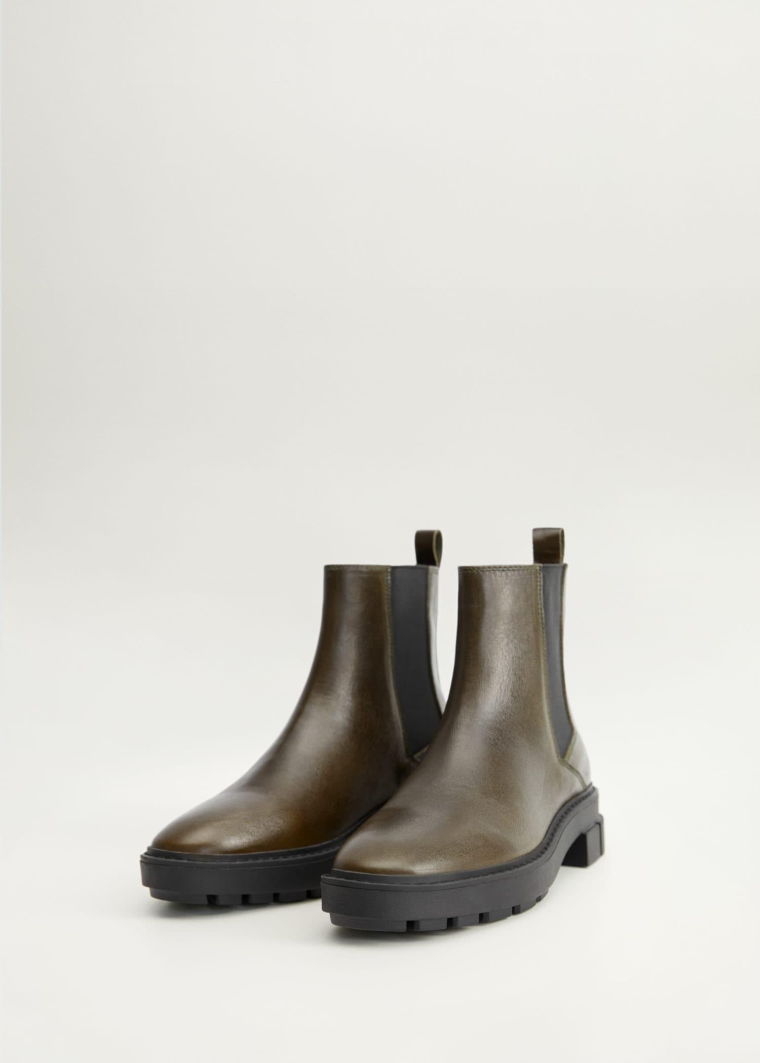 Stiefeletten, Leder, Schuhe, Stiefel, 40, Pistol Boots