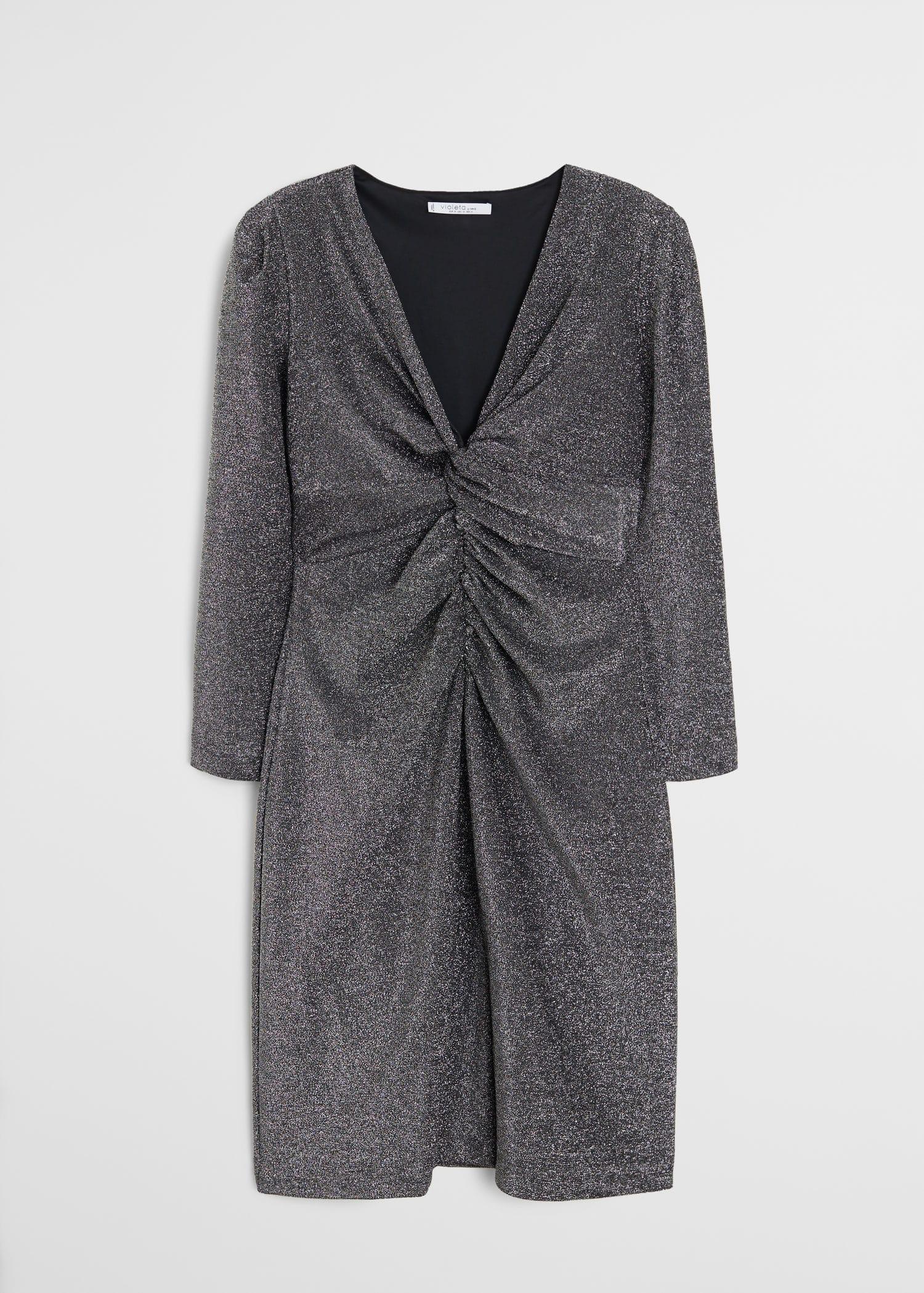 Vestidos Tallas Grandes 2019 Violeta By Mango España