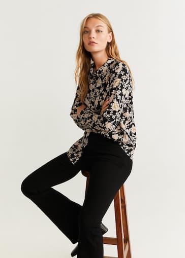 outlet store 93260 a490c Camicie da Donna 2019 | Mango Italia