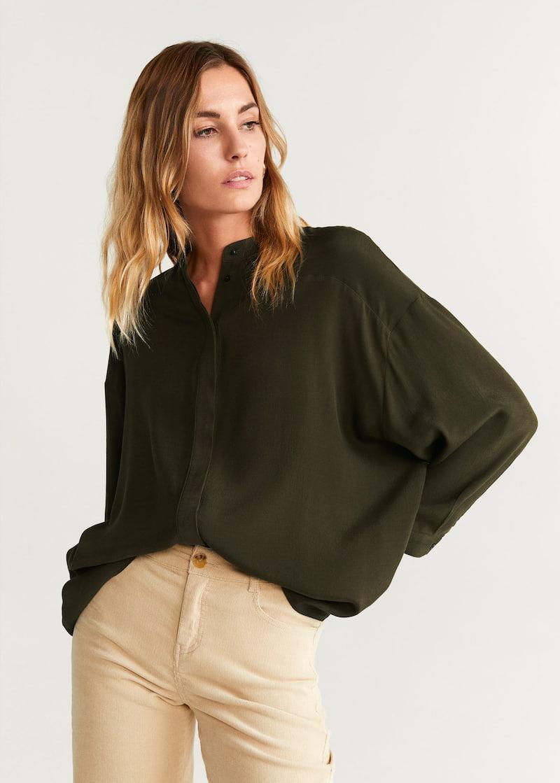 outlet store bcac8 780da Camicie da Donna 2019 | Mango Italia