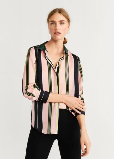 b0af4c3660c2 Camisas de Mujer 2019 | Mango España