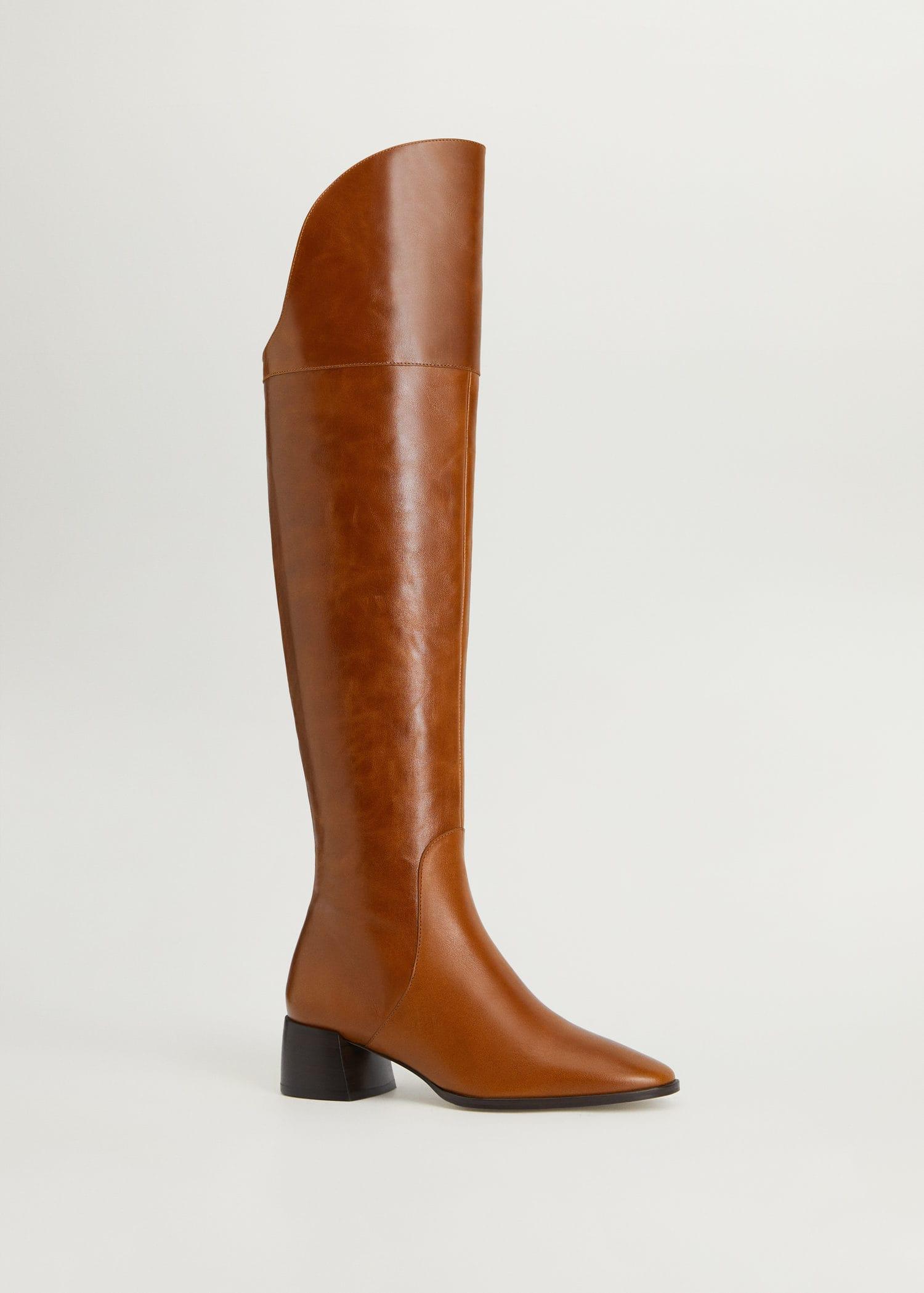 bottes hautes femme mango