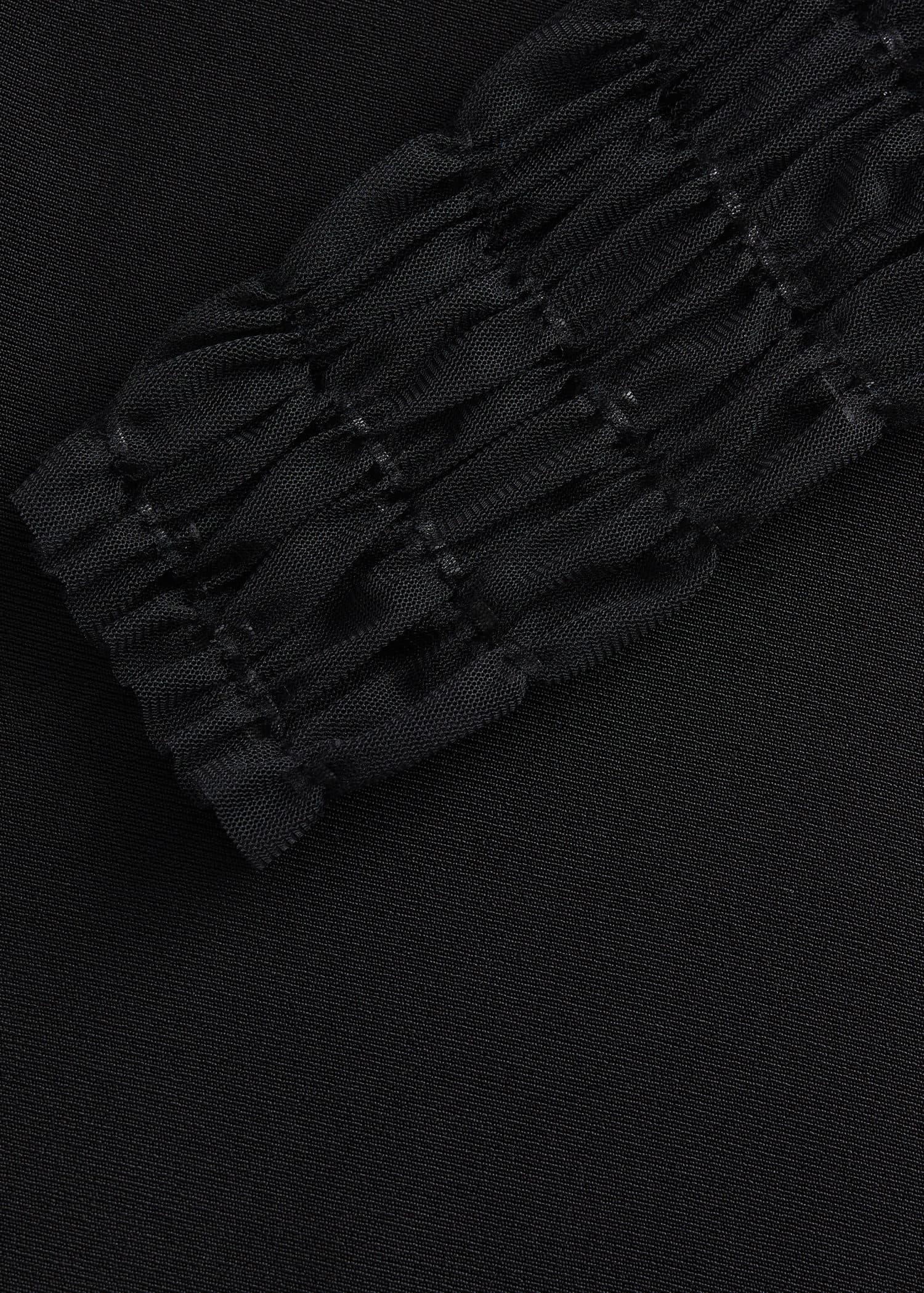 6 Lederriemen schwarz Puppenwagen Kinderwagen 30,0 x 2,0 cm Fahrzeuge Räder  wm