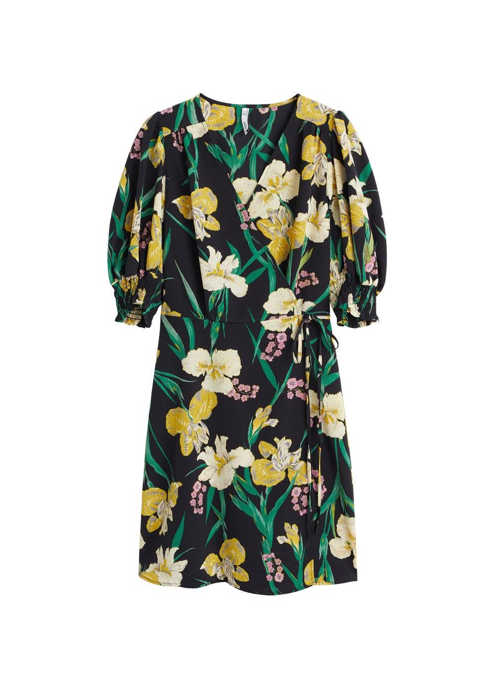 m-cor:vestido cruzado flores