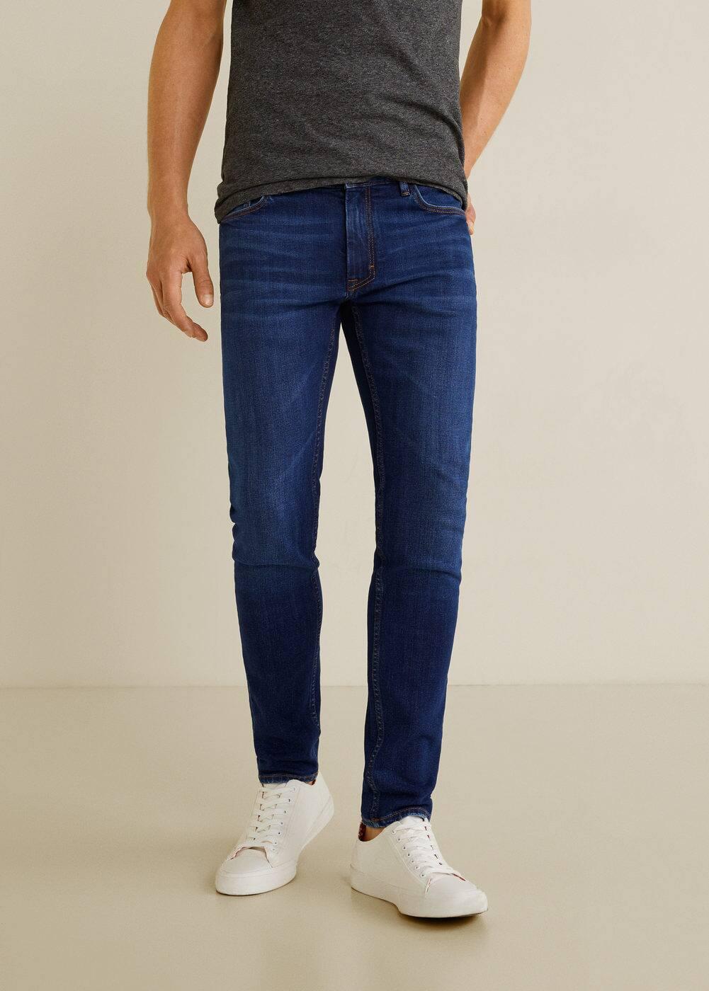 h-jude5:jeans jude skinny lavado oscuro