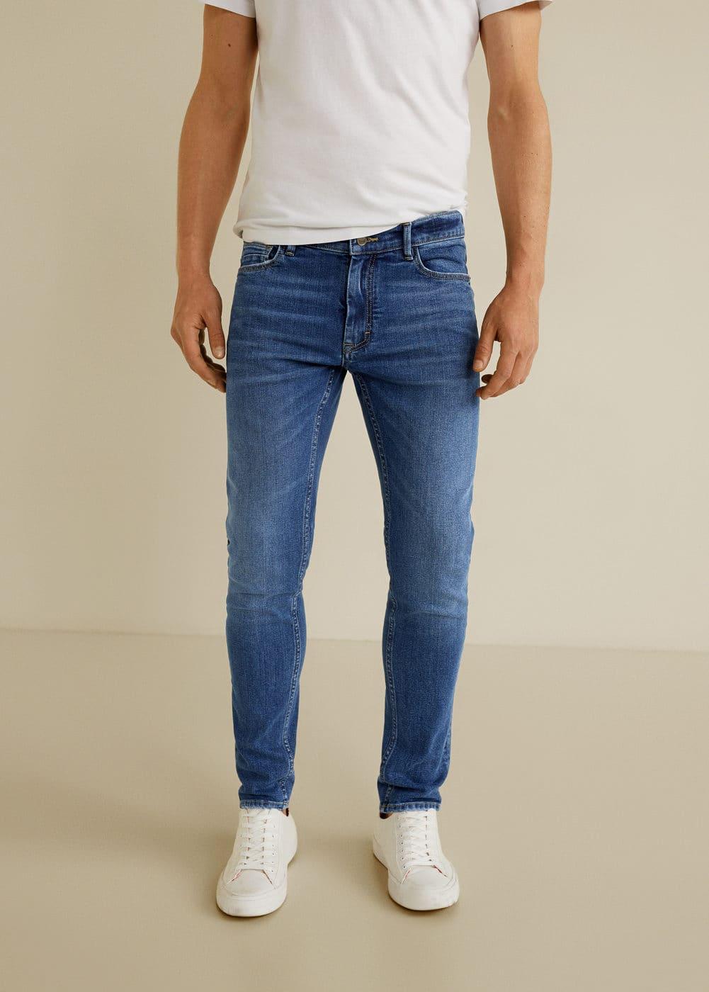 h-jude5:jeans jude skinny lavado medio