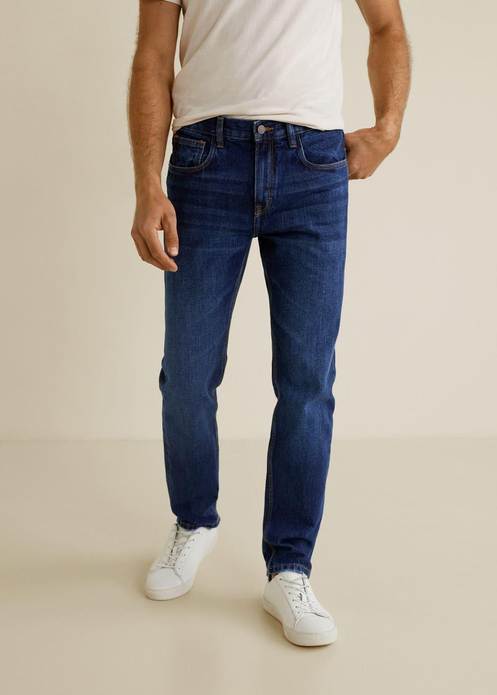 h-bob5:jeans bob regular fit lavado oscuro