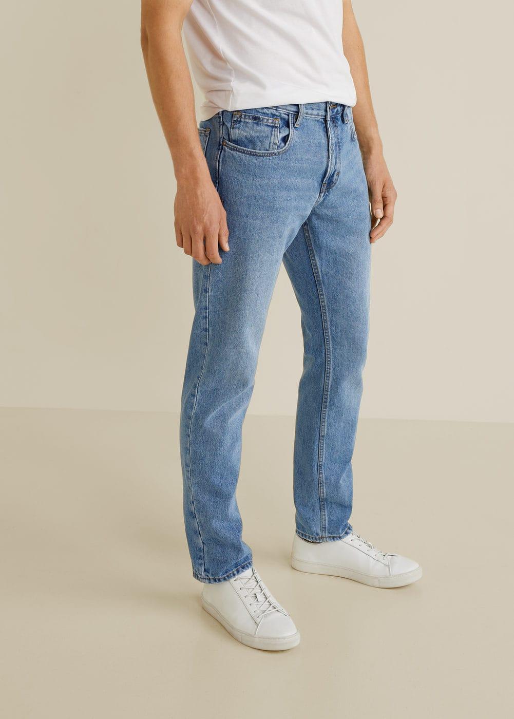 h-bob5:jeans bob regular fit lavado claro