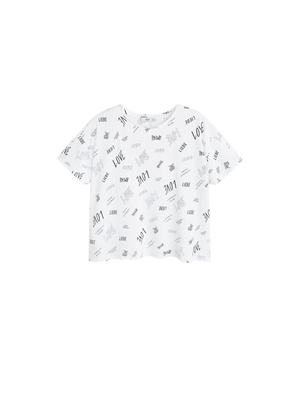 m-chalover:camiseta estampada algodon
