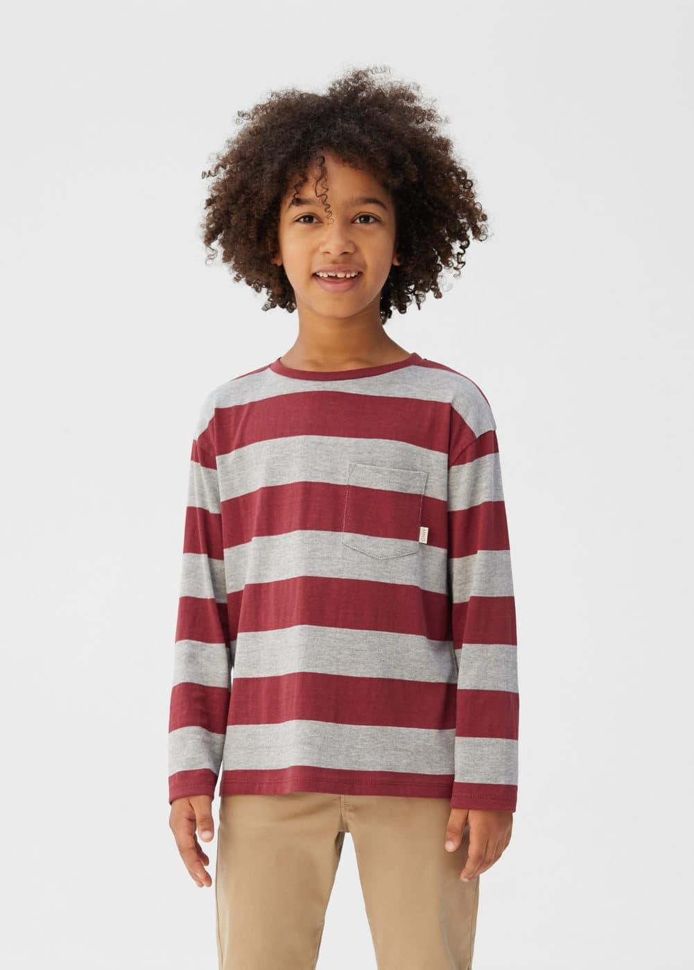o-rayas5:camiseta algodon organico
