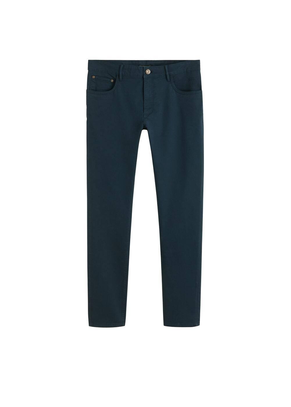 h-pisa5:pantalon tejanero slim fit sarga