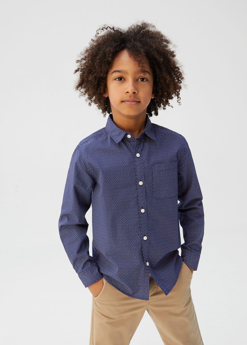o-damian5:camisa algodon bolsillo