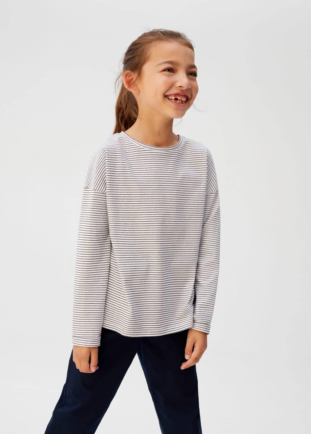 a-vinilo:camiseta algodon organico rayas