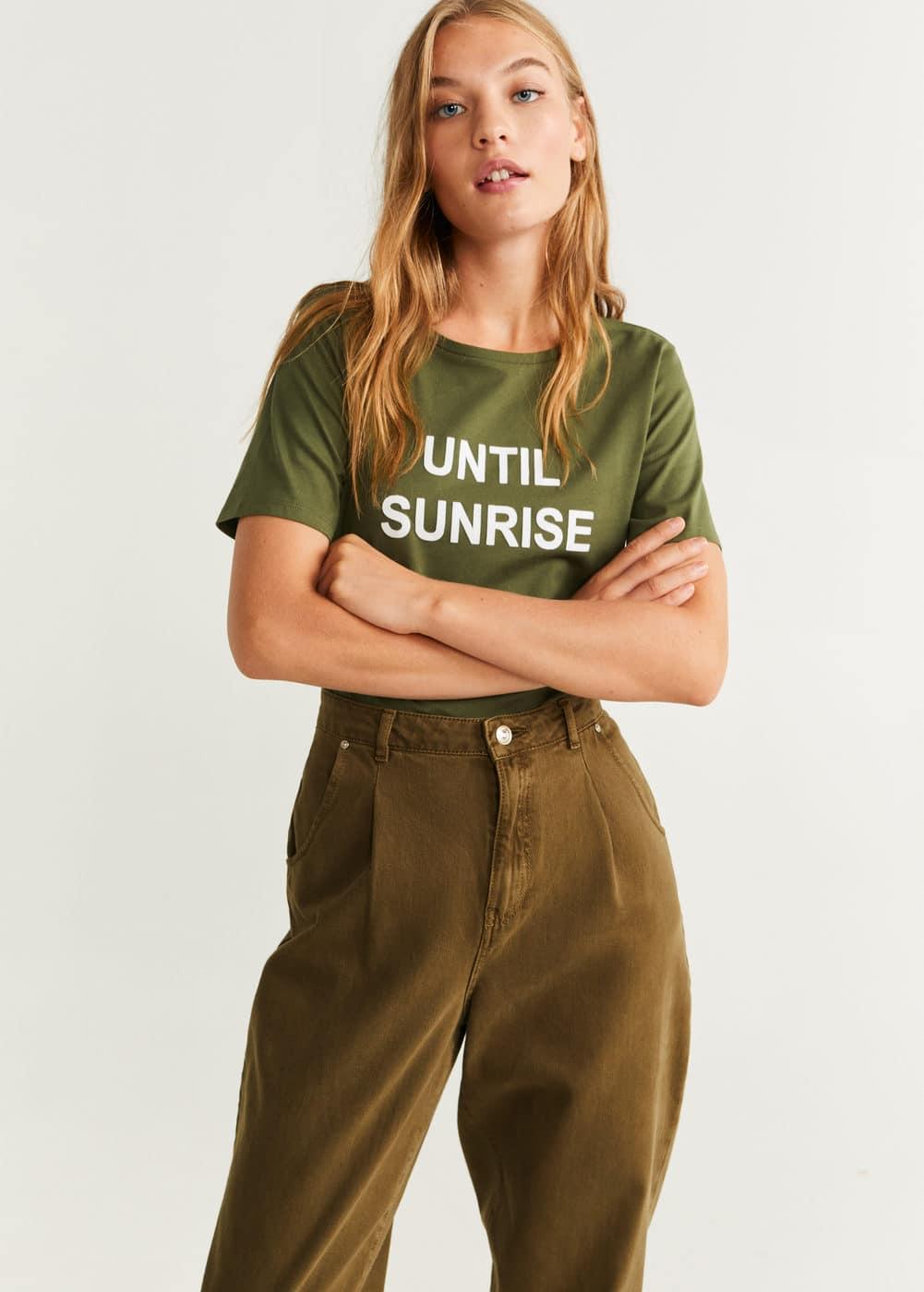 m-prive-h:camiseta algodon mensaje