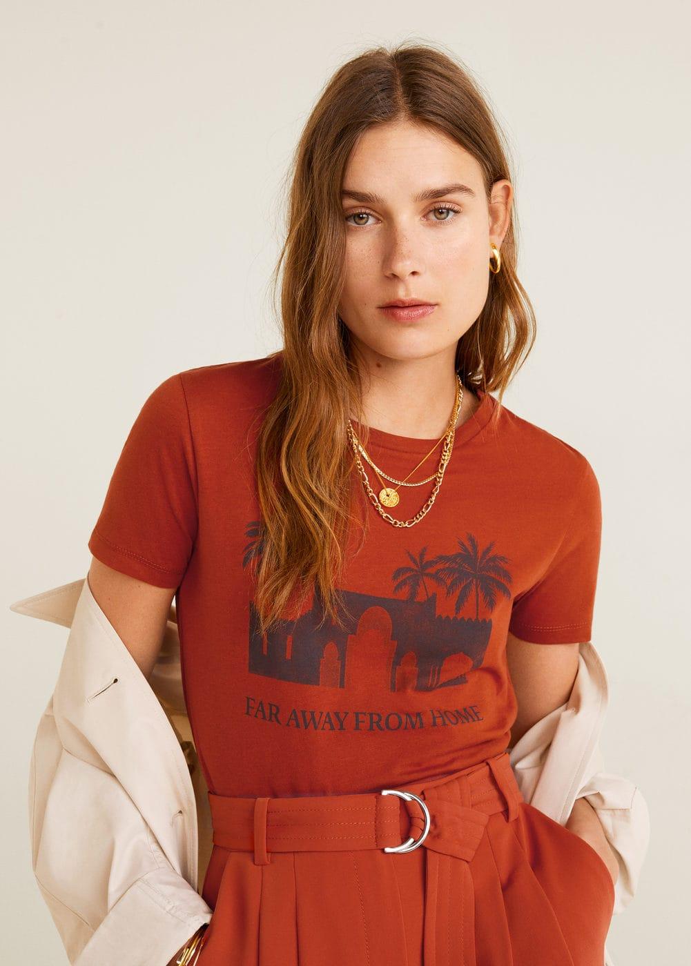 m-ilustra:camiseta estampada algodon