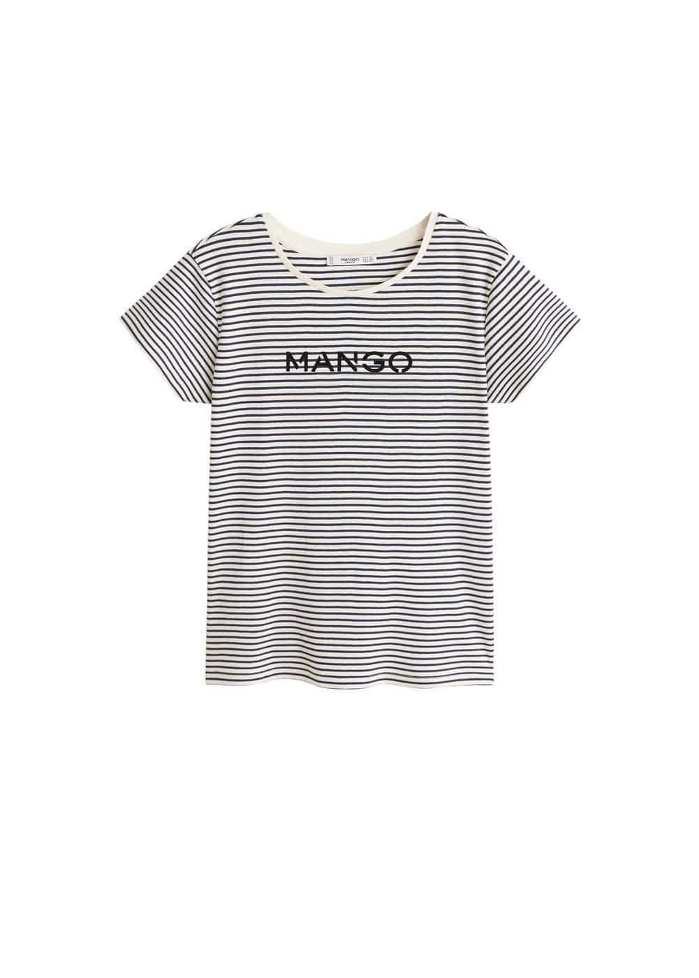 m-mangolog:camiseta algodon logo