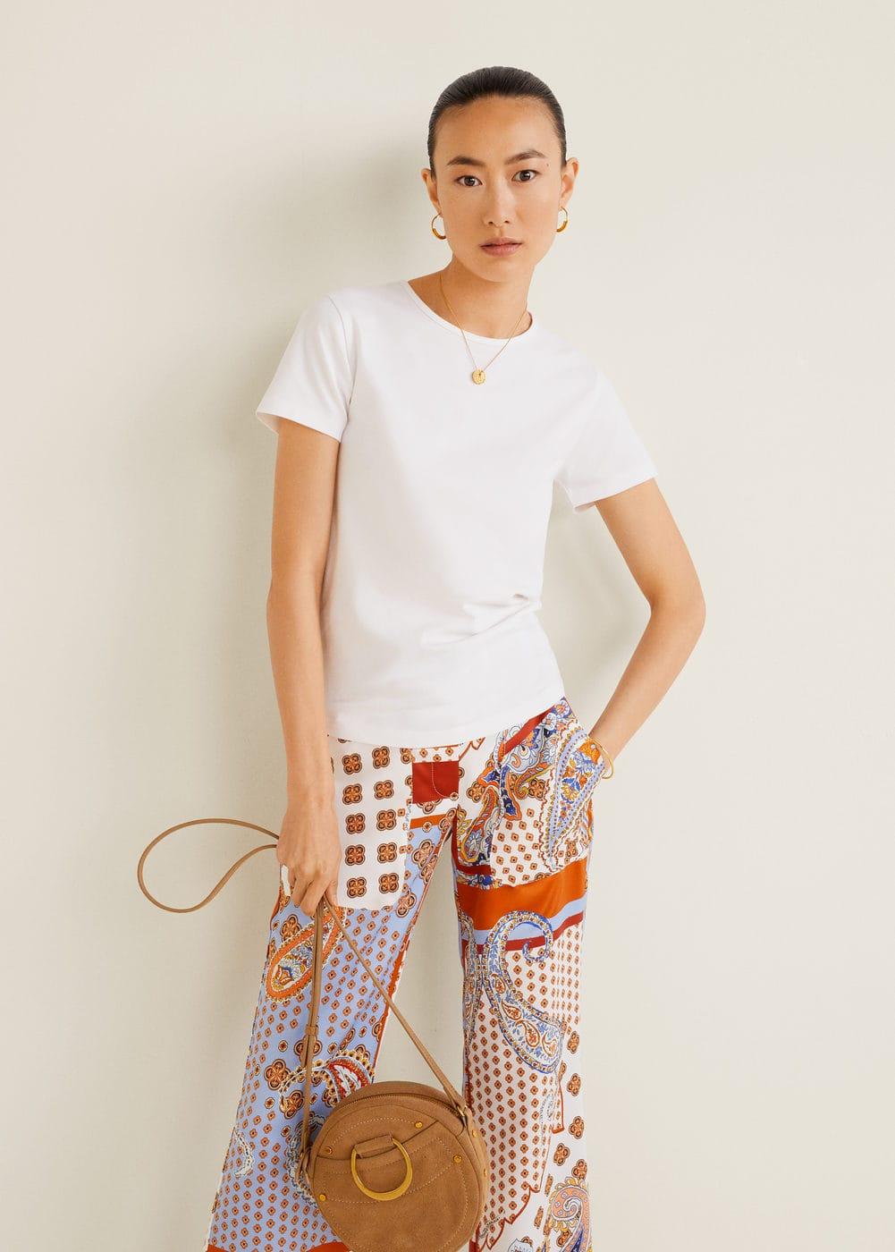 m-basic:camiseta basica algodon