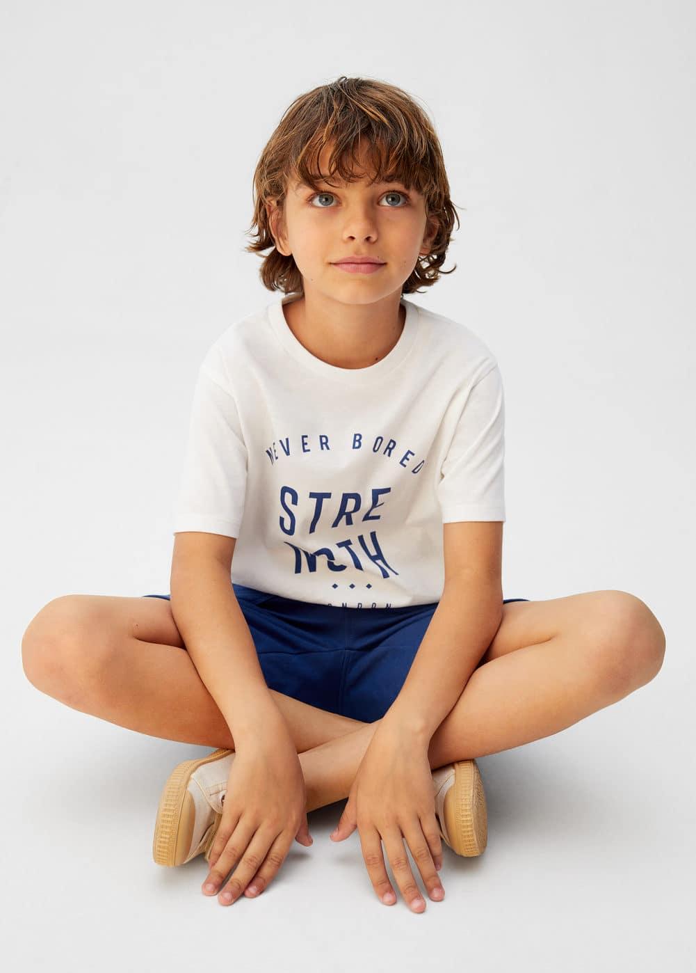 o-minimal:camiseta mensaje estampado