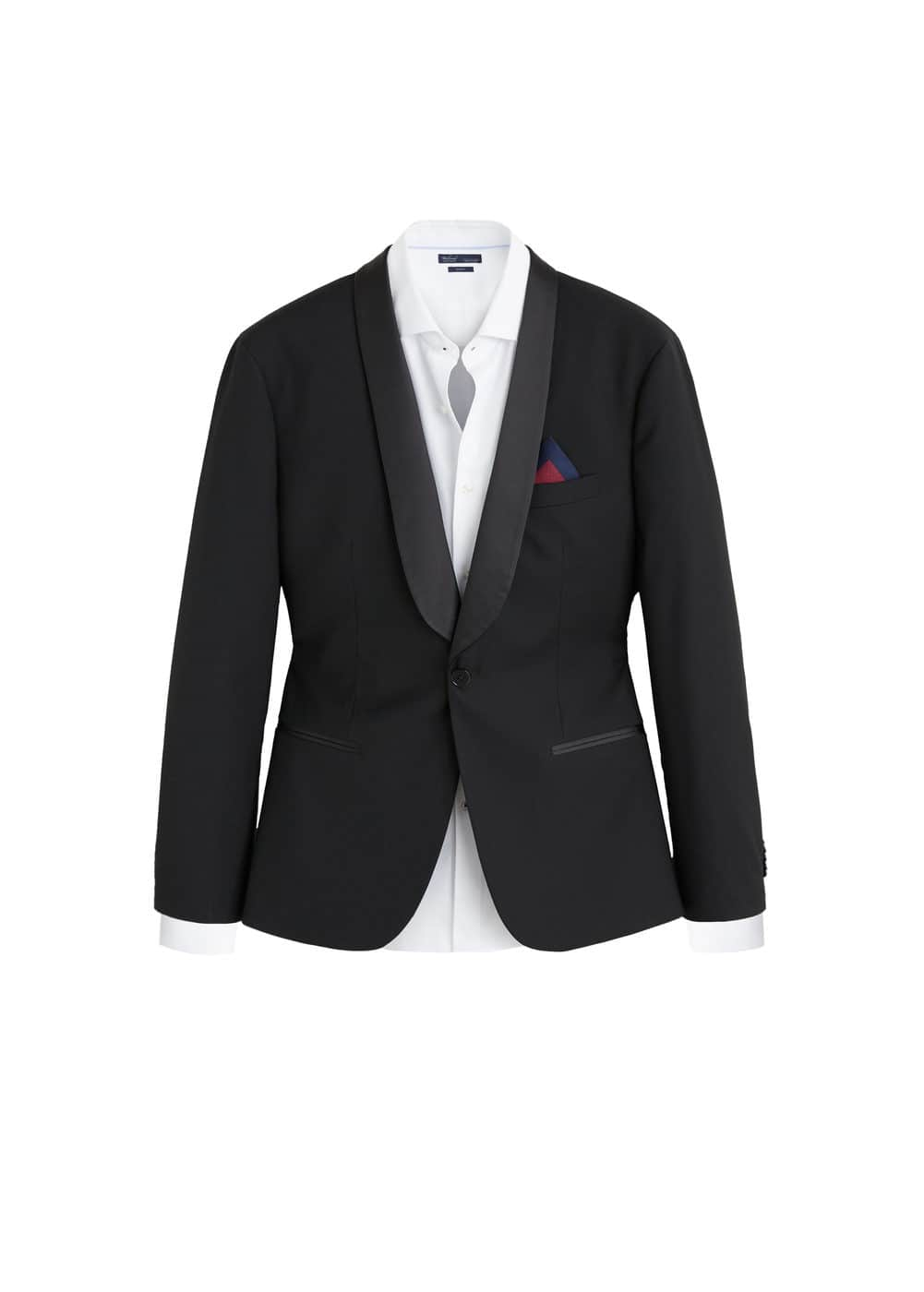 4526940199 Super slim-fit suit blazer - Man | Mango Man Canada