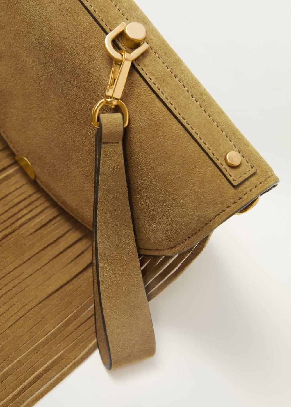 m-olivia:bolso piel flecos