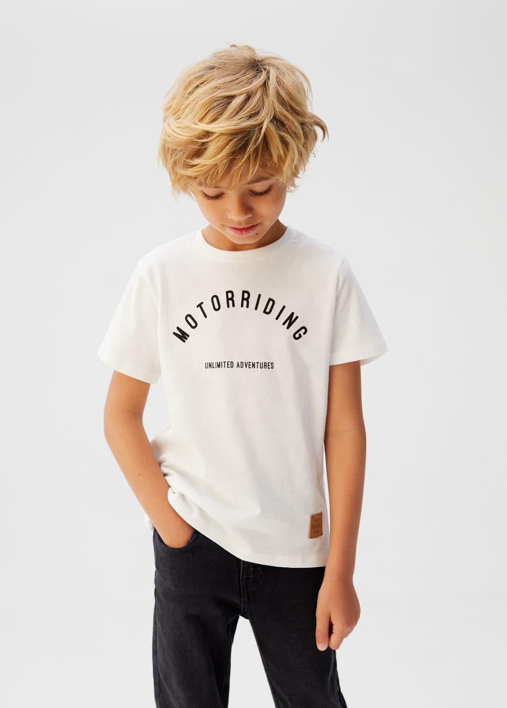 o-motor:camiseta mensaje estampado