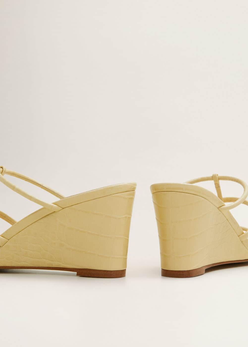 Sandales lanières plateforme  -  Femme | Mango France