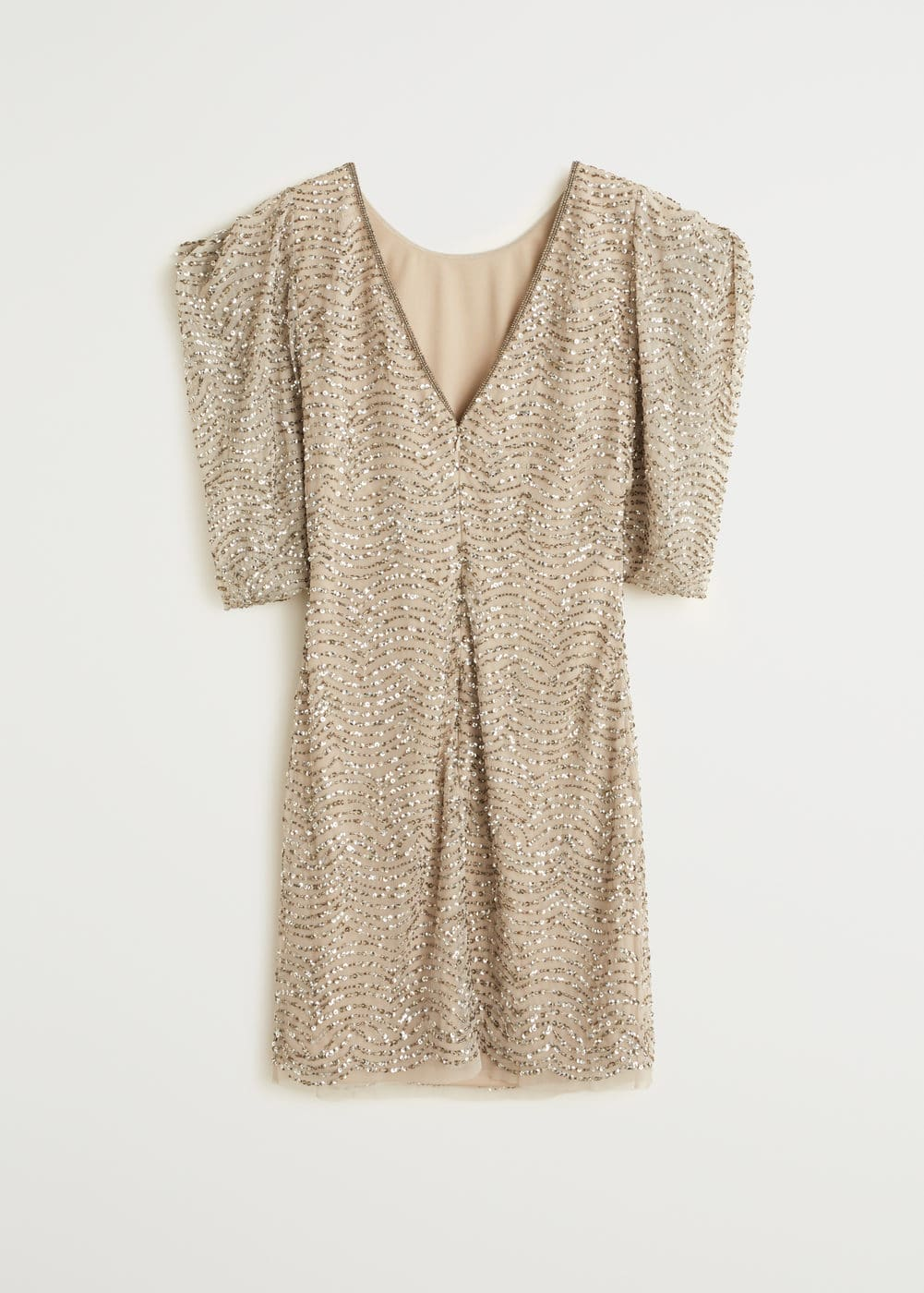 Cleep mango robe courte sequins