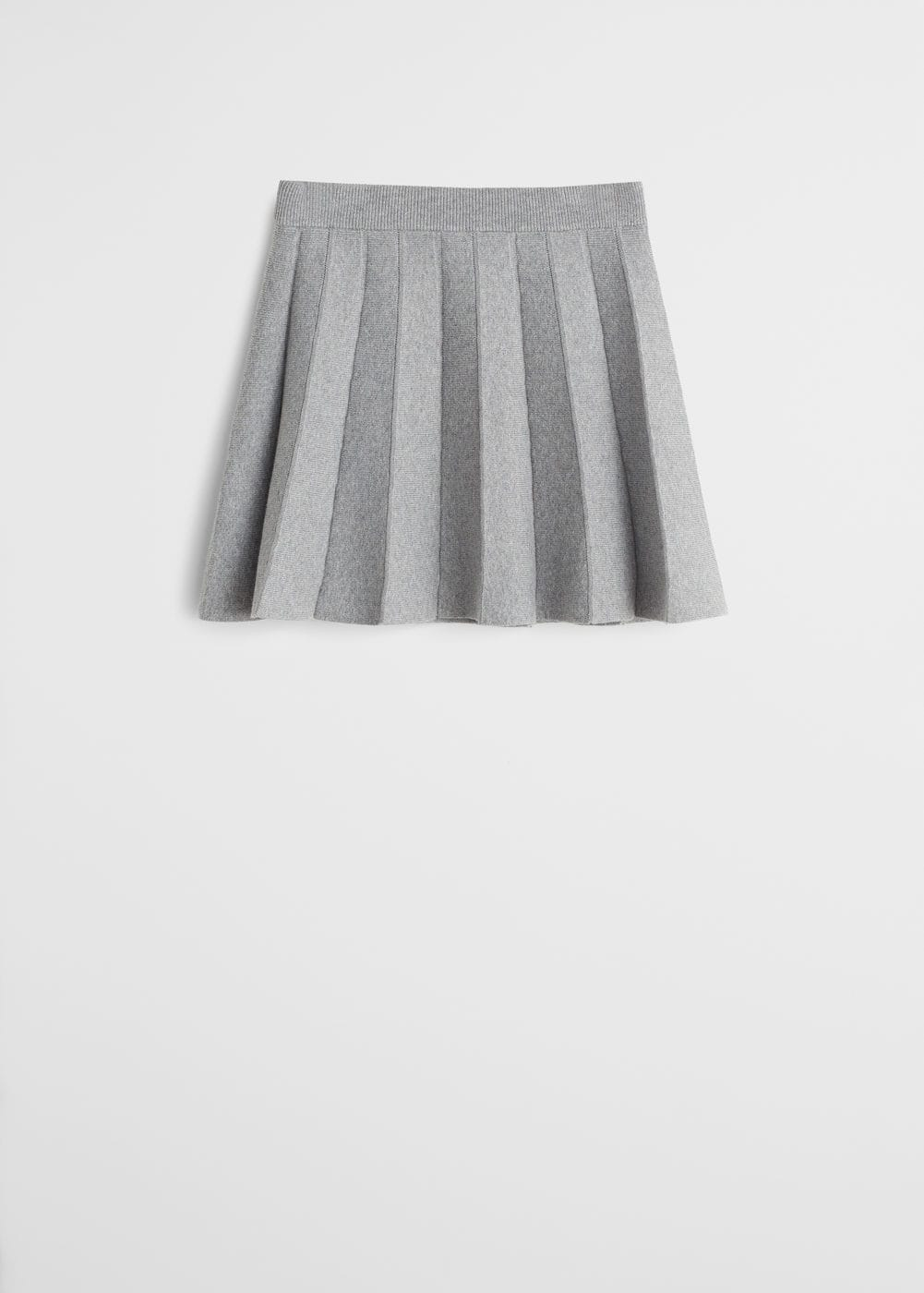 grande vendita 7c02a 33ede Pleated knit skirt