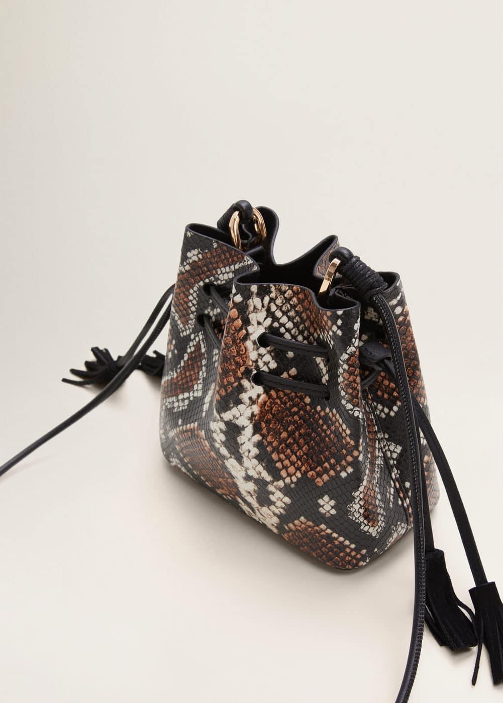 m-upsala:bolso saco serpiente