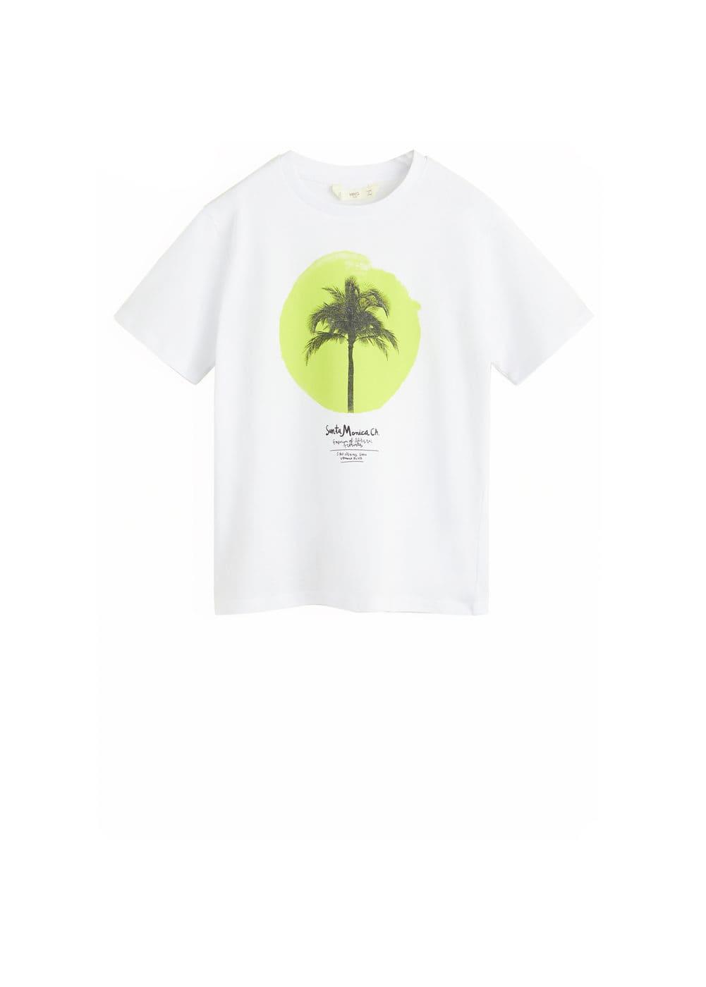 o-monica:camiseta algodon estampado