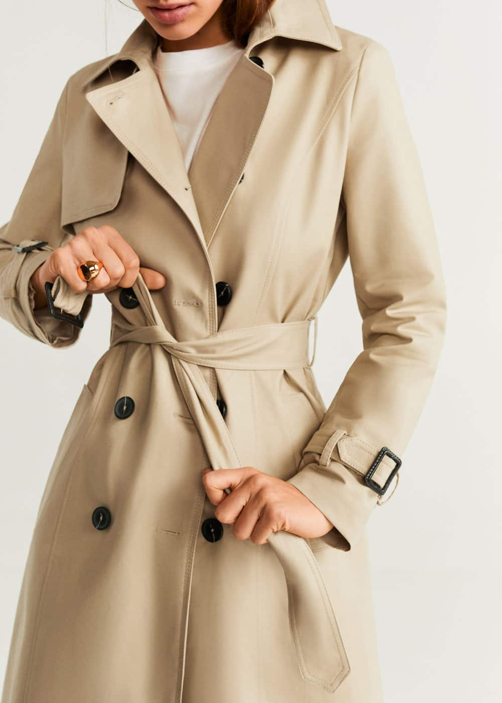 Belt Trench by Mango