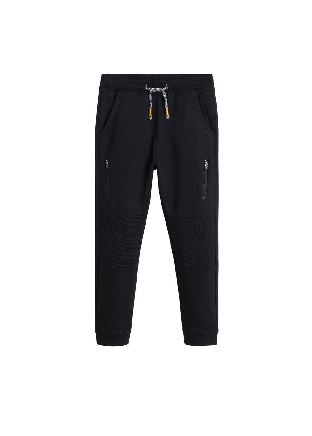 o-lewis:pantalon jogger cremalleras
