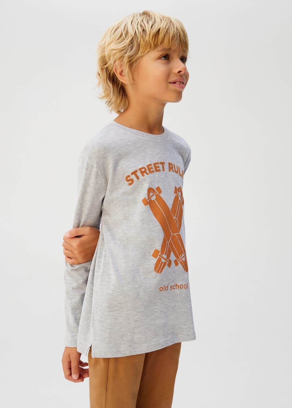 o-rules:camiseta estampado skater