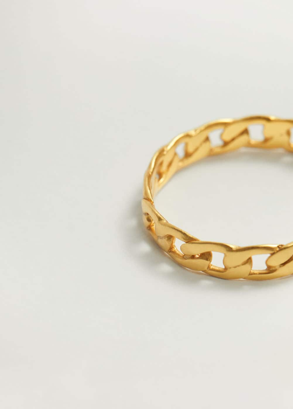 Glieder Ring by Mango