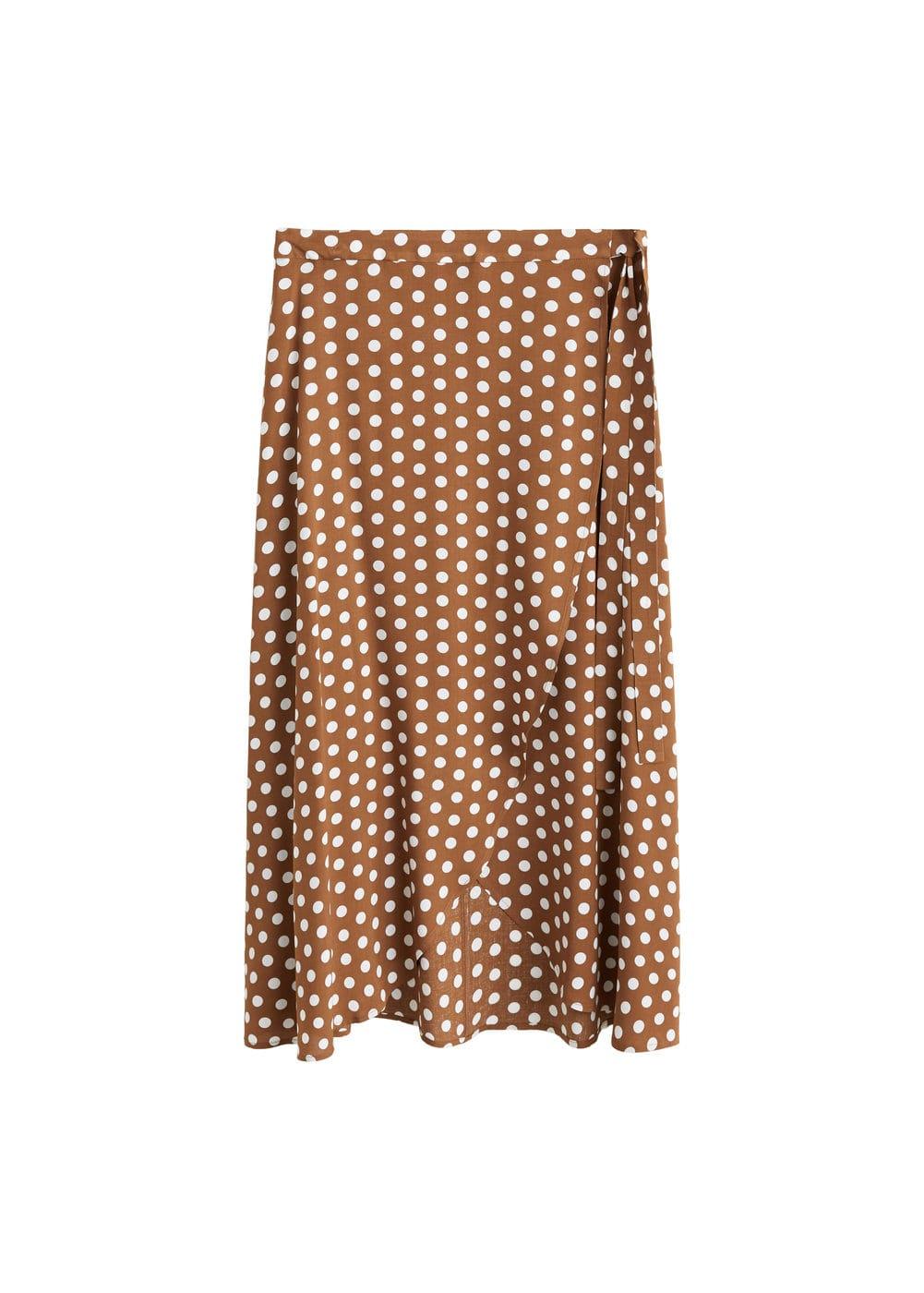 m-mire:falda cruzada estampada