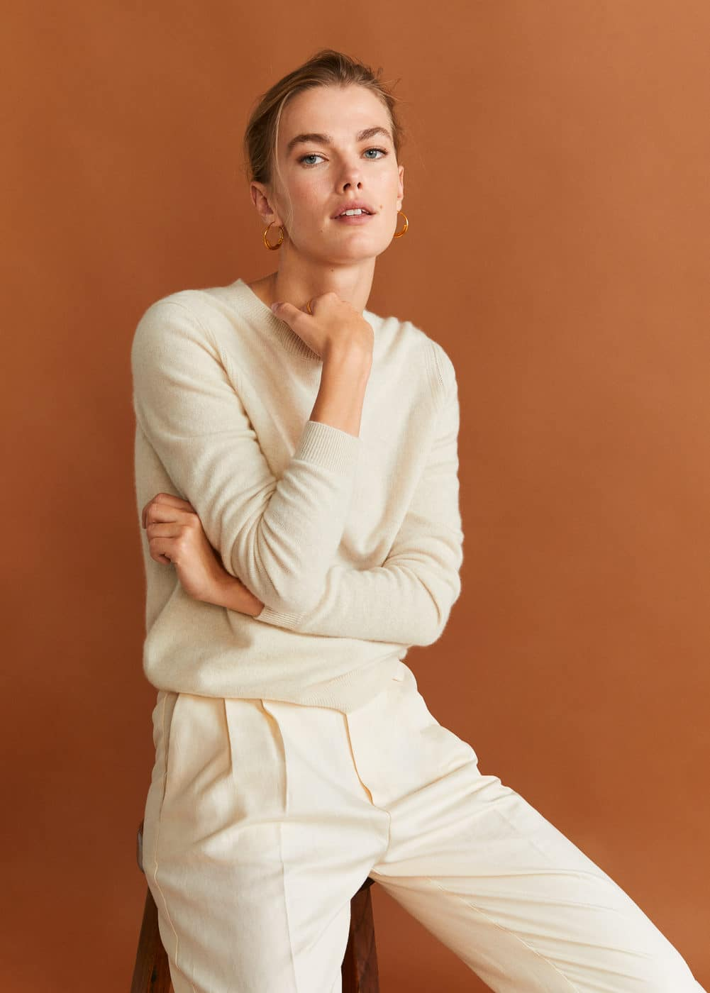 100 Percents Cashmere Sweater by Mango