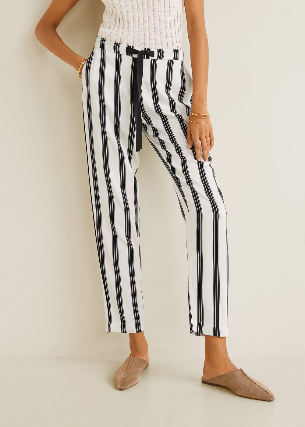 m-fluido:pantalon largo recto