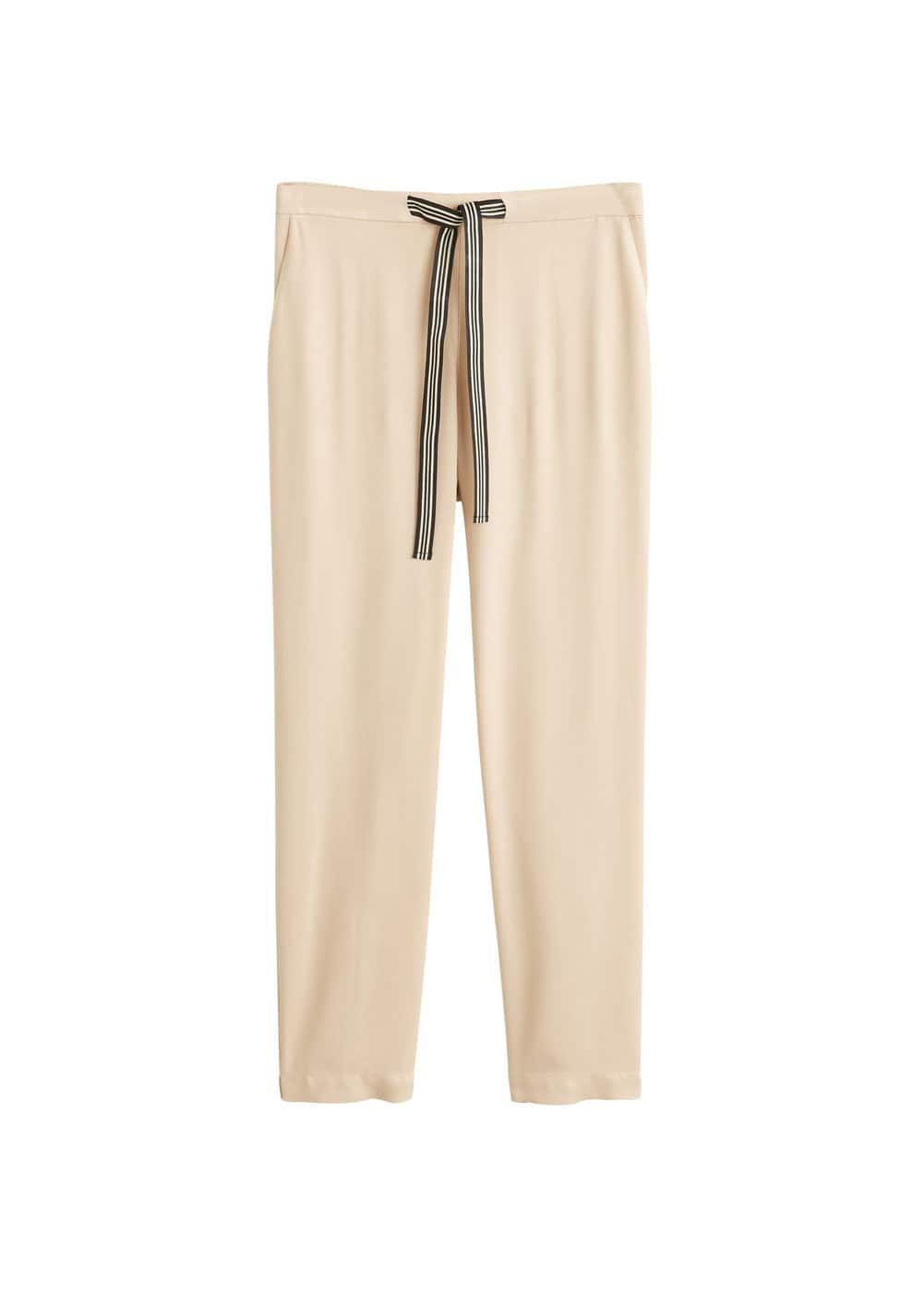 m-fluido:pantalon largo recto
