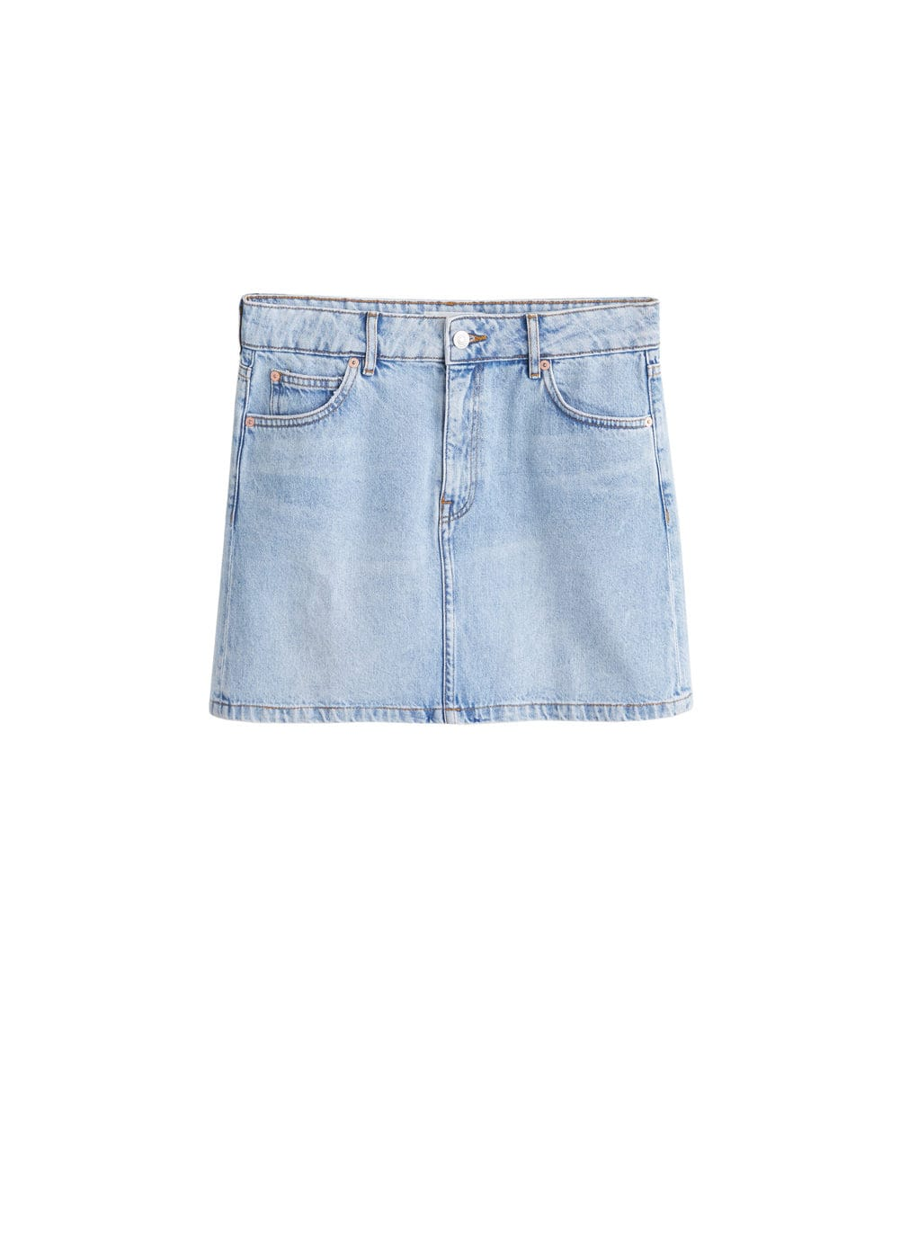 m-musthave:minifalda denim