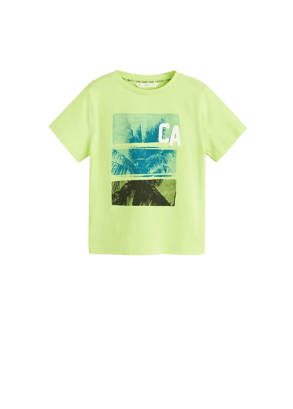 o-carlos:camiseta estampada letras relieve