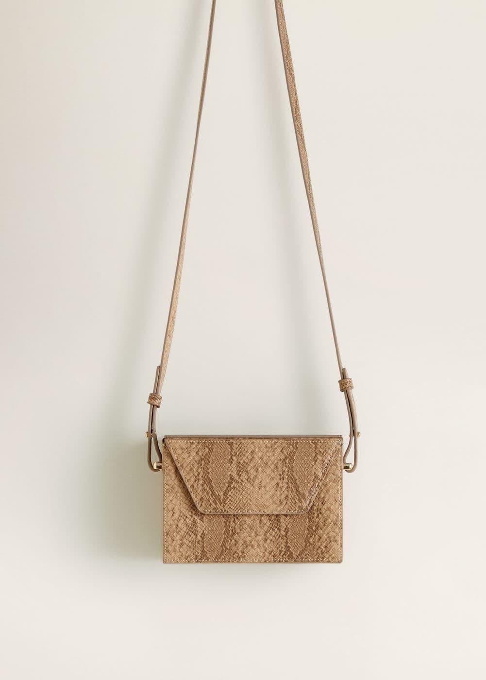 m-gilda:bolso solapa serpiente