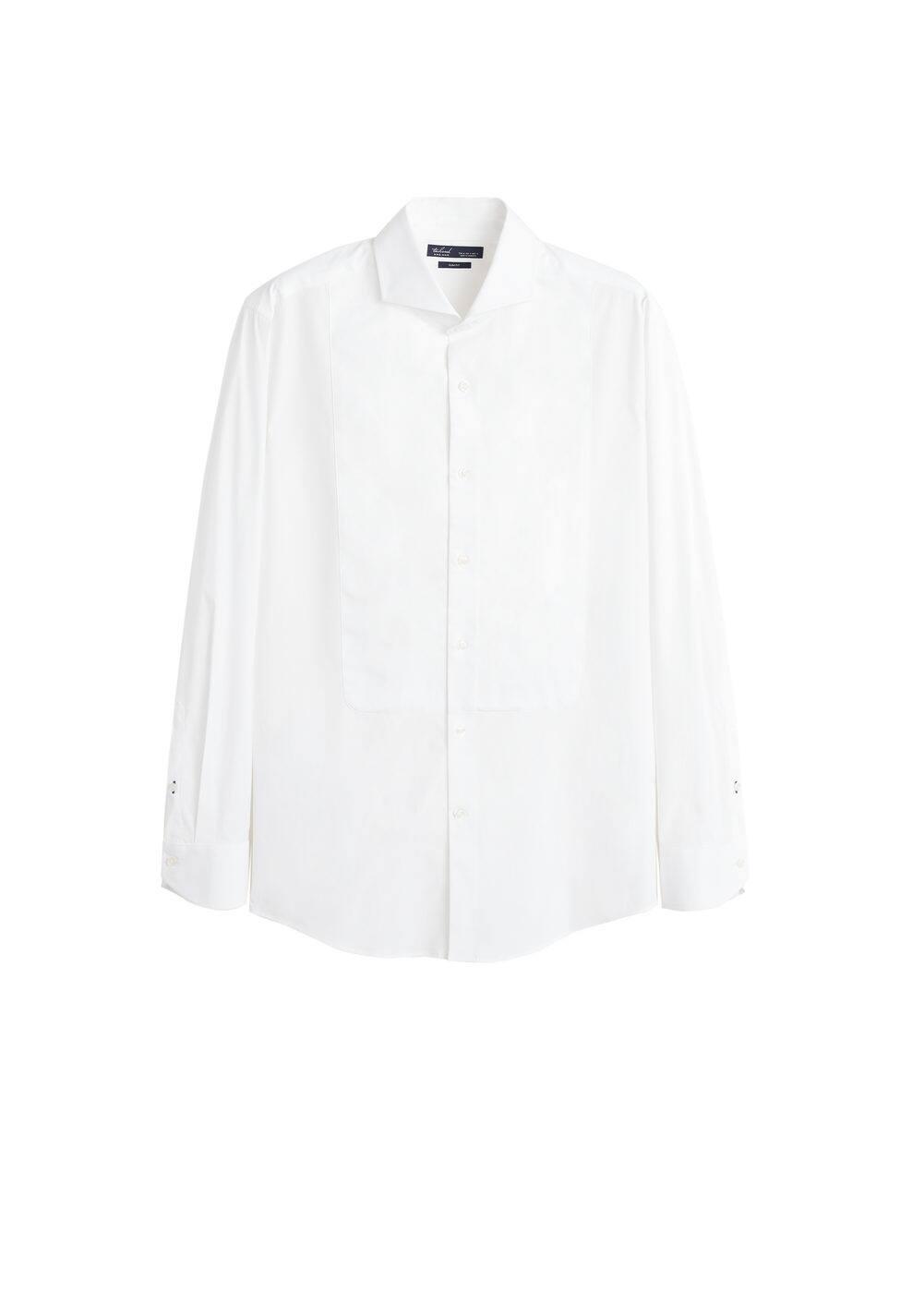h-kooning:camisa tailored slim fit babero