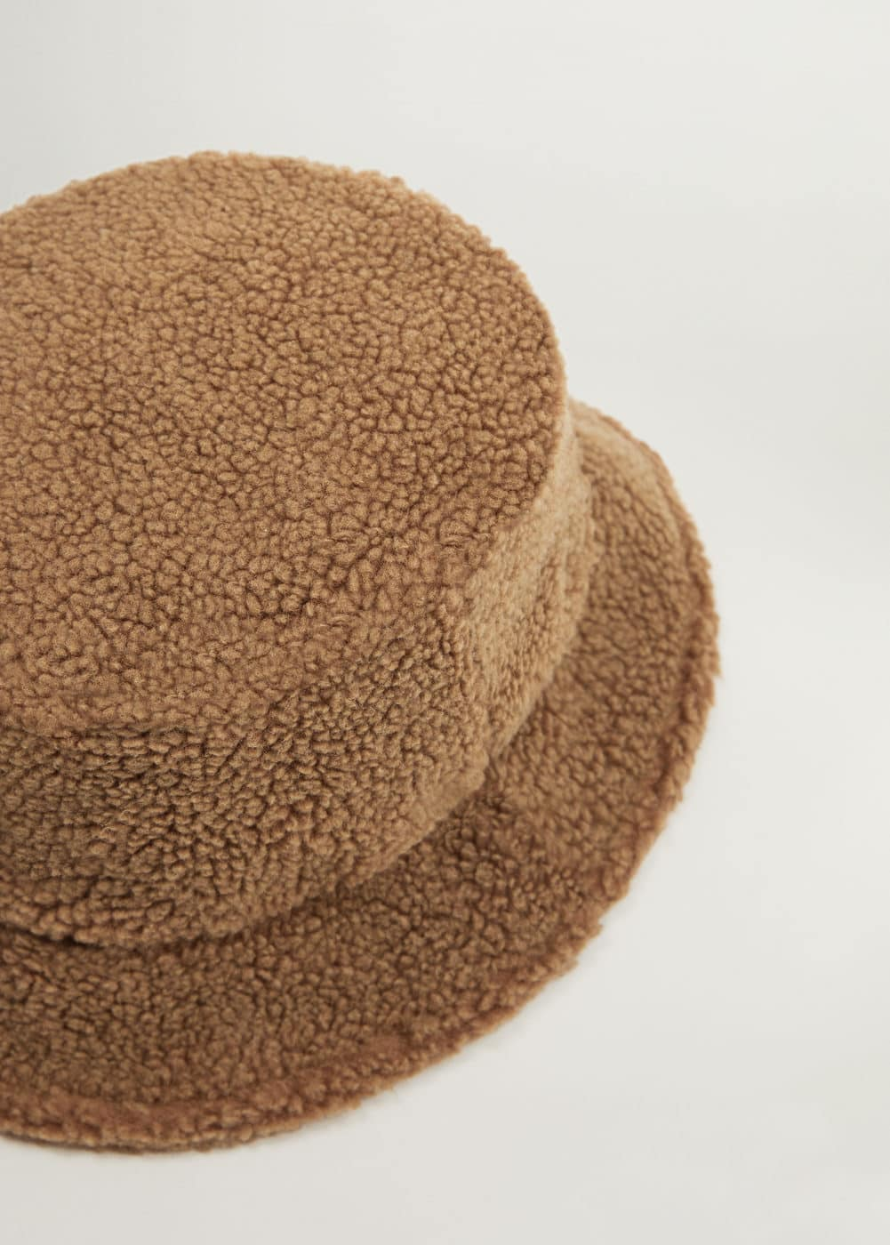 Shearling Bucket Hat by Mango