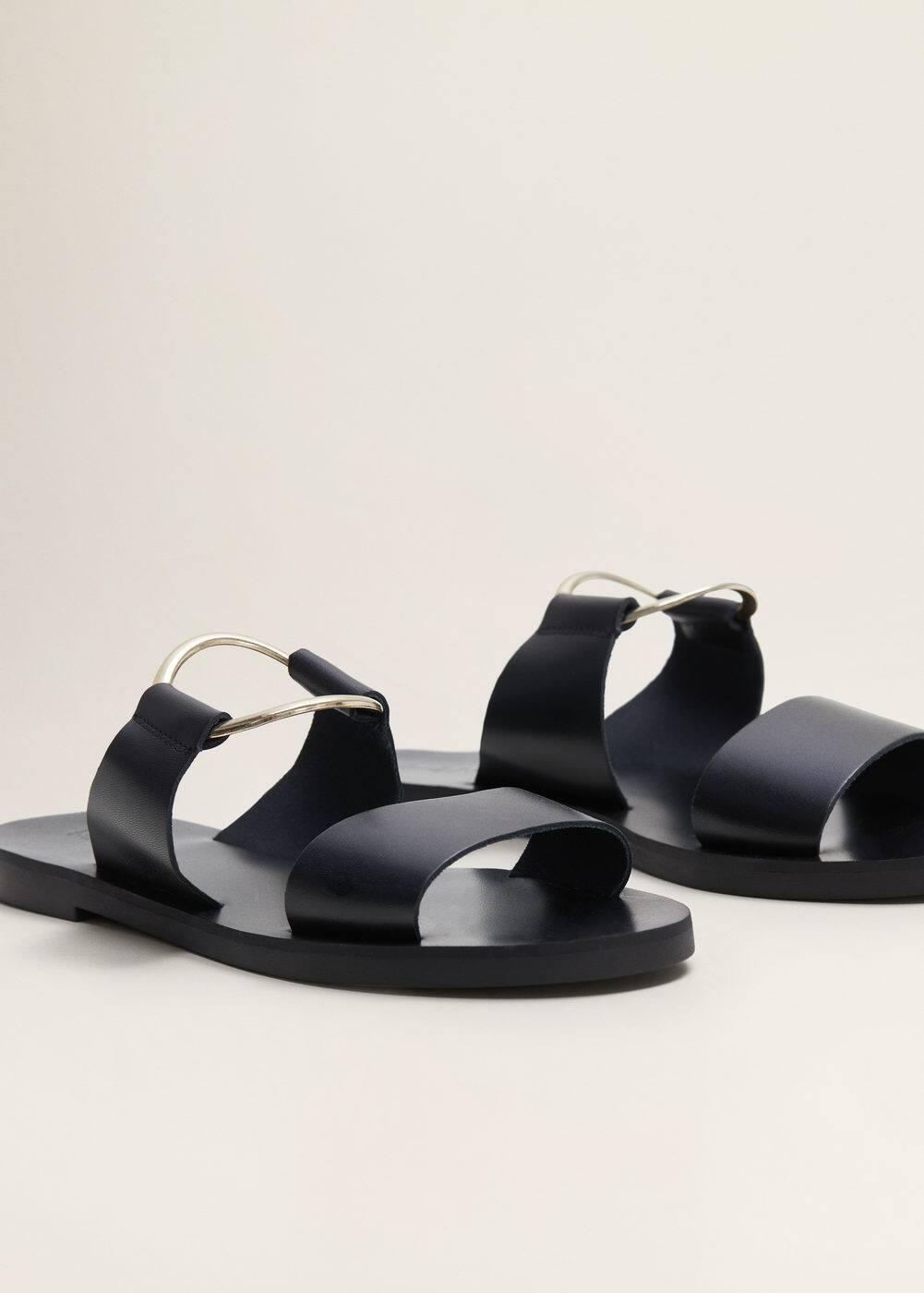 m-sak:sandalia piel anilla