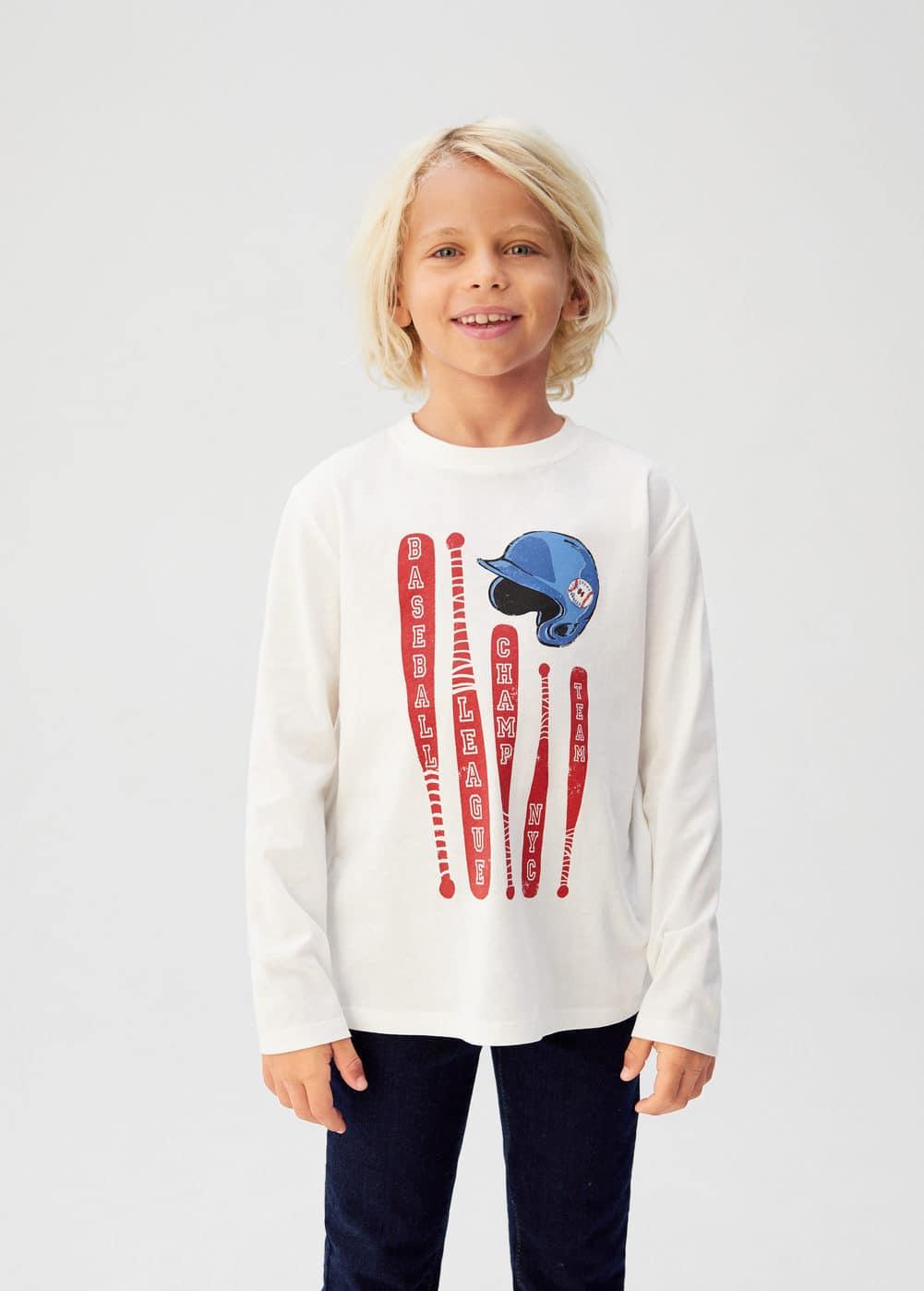 o-champ:camiseta algodon organico estampada